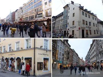 Улицы Мюнхена (самые интересные)