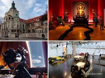 Музеи в Мюнхене (с адресами и сайтами)