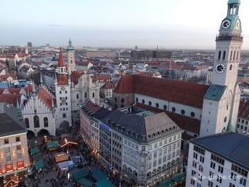 Смотровые площадки в Мюнхене. Обзорные точки