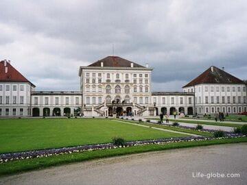 Дворец Нимфенбург в Мюнхене (Schloss Nymphenburg) + парк Нимфенбург