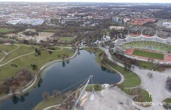 Olympic Park in Munich (Olympiapark München)