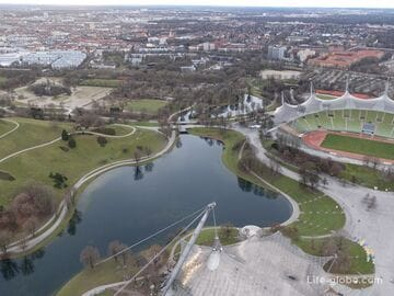Олимпийский парк в Мюнхене (Olympiapark München)