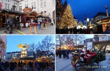 Рождественские ярмарки в Мюнхене (Münchner Weihnachtsmärkte)