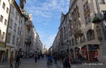 Street Sendlinger Strasse in Munich (Sendlinger Straße)
