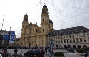 Theatinerkirche in Munich - church of St. Cajetan