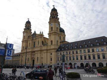 Театинеркирхе в Мюнхене (Theatinerkirche) - Театральная церковь святого Каетана