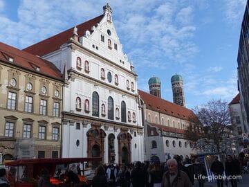 Церковь святого Михаила в Мюнхене (Jesuitenkirche St. Michael)