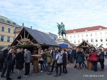 Площадь Виттельсбахов в Мюнхене (Wittelsbacherplatz / Виттельсбахерплатц)