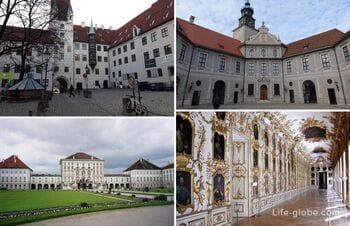 Резиденции монархов в Мюнхене (королевские дворцы и замки)