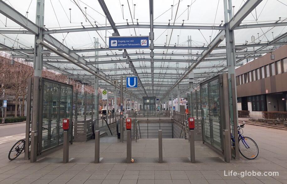 Metro Nürnberg Flughafen