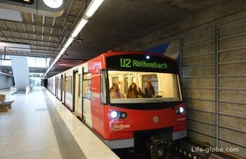 How to get from Nuremberg Airport to the city center (from the center to the airport)
