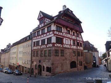 Дом-музей Дюрера в Нюрнберге (Albrecht-Dürer-Haus)
