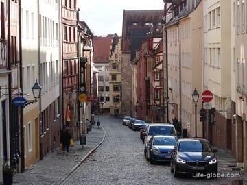 Улица Альбрехта Дюрера, Нюрнберг (Albrecht-Dürer-Straße / Альбрехт-Дюрер-штрассе)