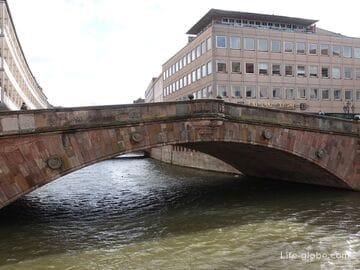 Мясной мост, Нюрнберг (Fleischbrücke)