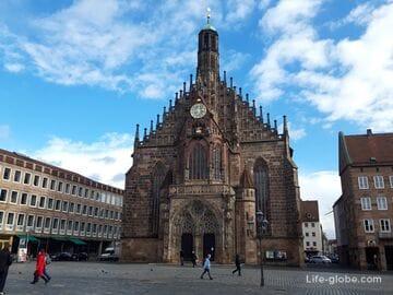 Фрауэнкирхе, Нюрнберг (Frauenkirche) - церковь Девы Марии