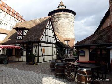 Ремесленный двор в Нюрнберге (Handwerkerhof / Хандверкерхоф)