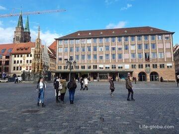 Рыночная площадь, Нюрнберг (Hauptmarkt / Хауптмаркт) - главная площадь города
