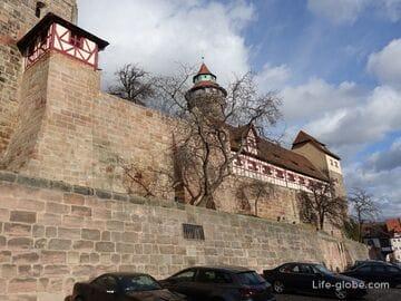 Нюрнбергская крепость (Nürnberger Burg) - замок Кайзербург (Kaiserburg)