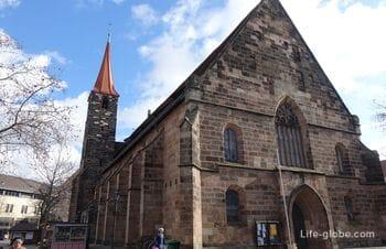 Церковь святого Иакова / Якоба, Нюрнберг  (Kirche St. Jakob)