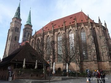 Церковь святого Себальда в Нюрнберге (Kirche St. Sebald)