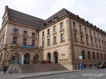 Нюрнбергский музей транспорта (Verkehrsmuseum Nürnberg): музей немецких железных дорог и музей связи