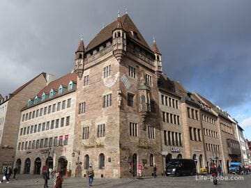 Дом Нассау в Нюрнберге (Nassauer Haus)