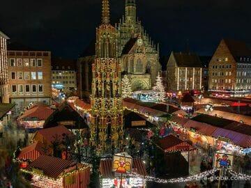 Рождественские ярмарки в Нюрнберге (Nürnberger Christkindlesmarkt)