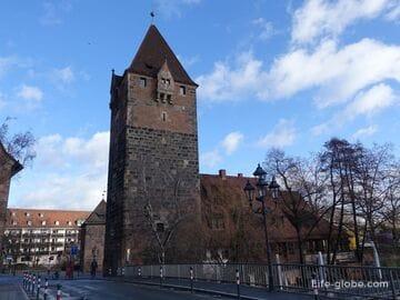 Башня должников в Нюрнберге (Schuldturm / Шульдтурм) - бывшая тюрьма