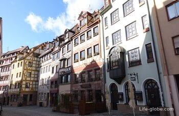 Вайссгербергассе, Нюрнберг (Weißgerbergasse) - самая красивая улица города