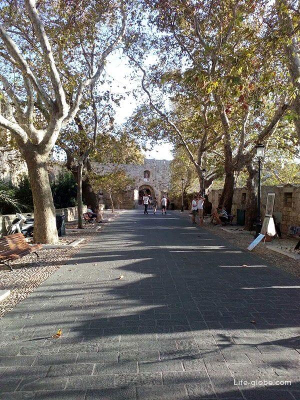 Старый город Родос, Греция