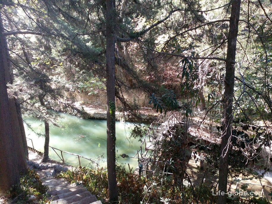 Чарующий парк Родини, Родос, Греция