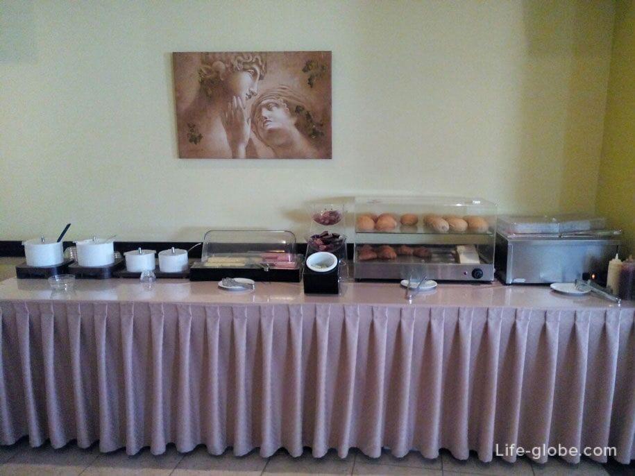 Отель Конго, Родос - завтрак