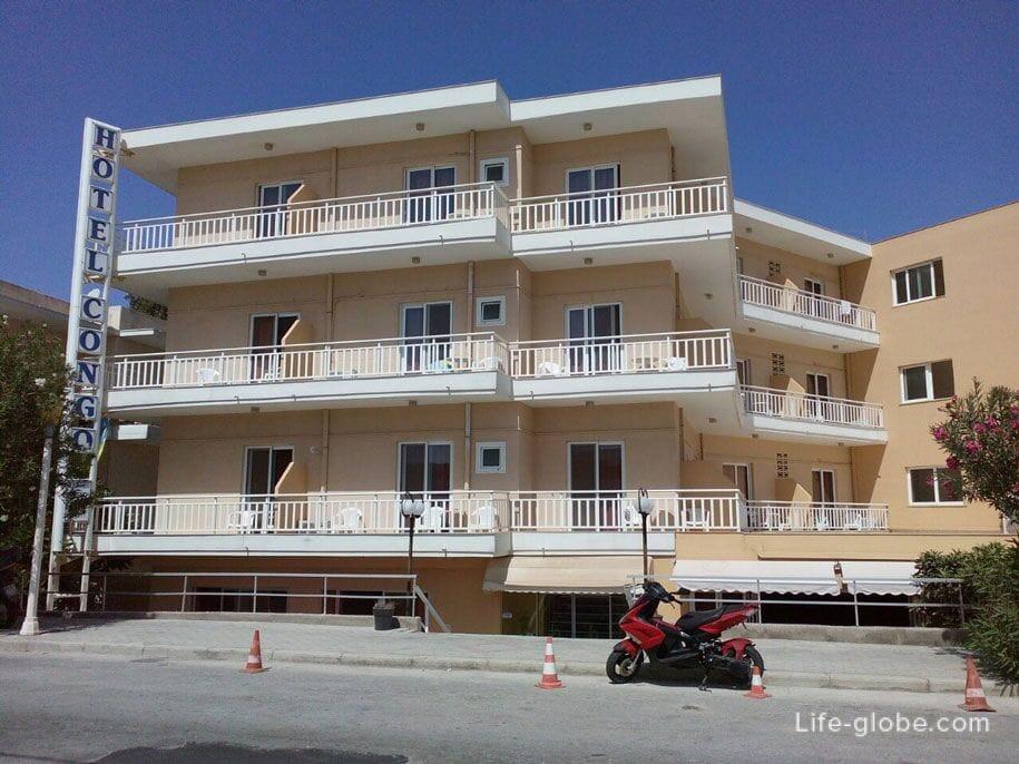 Отель Конго, Родос, Греция