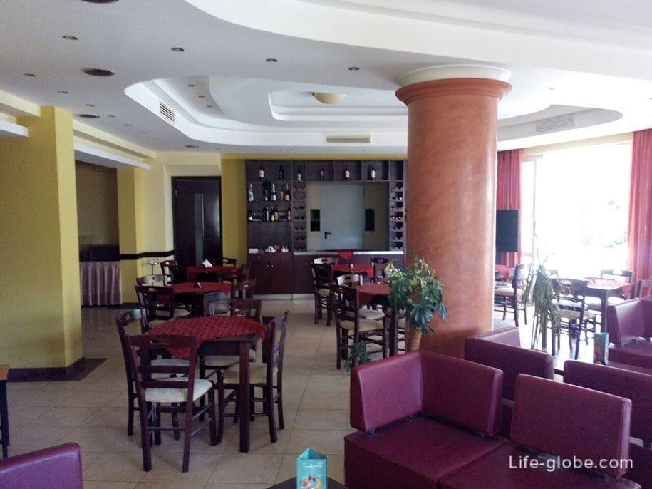 Отель Конго, Родос - холл, бар
