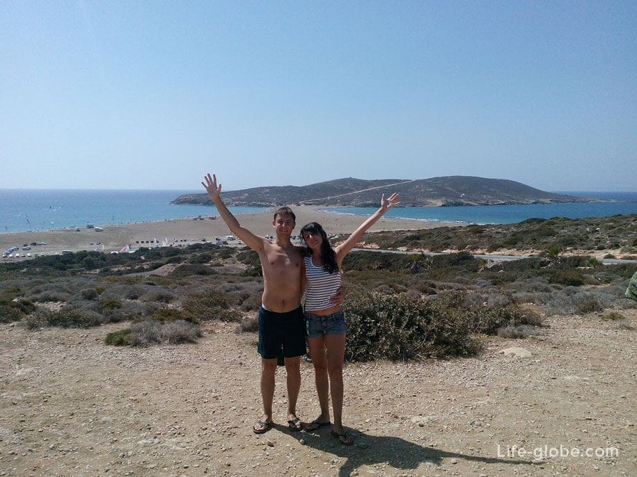 Поцелуй двух морей - Средиземного и Эгейского, Родос