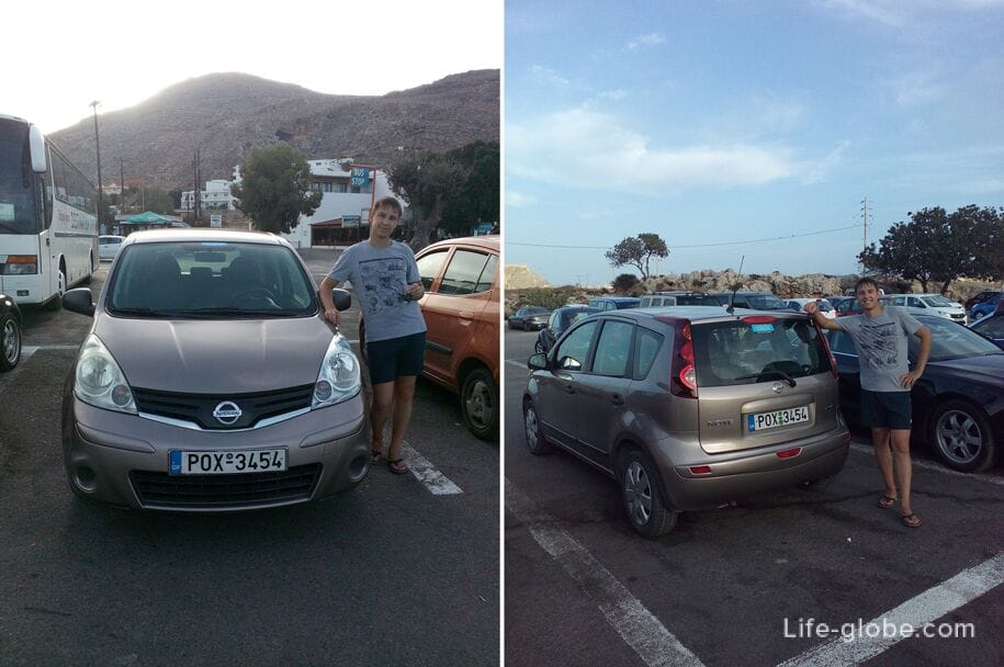 Авто в прокат, Родос, Греция. Исследуем остров