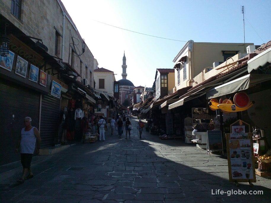 Туристический центр Старого города Родоса, Греция