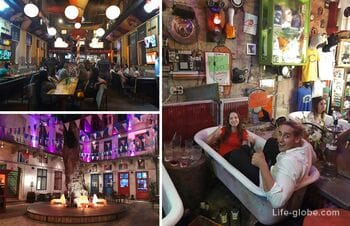Budapest ruin bars - and devastation can be attractive