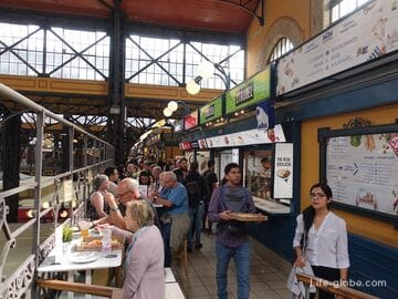 Центральный рынок в Будапеште (Központi Vasarcsarnok)