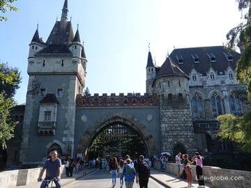 Замок Вайдахуняд, Будапешт (Vajdahunyad vara) - эклектичный комплекс