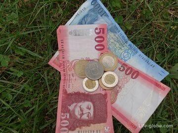 Валюта Венгрии. Обмен валюты в Будапеште