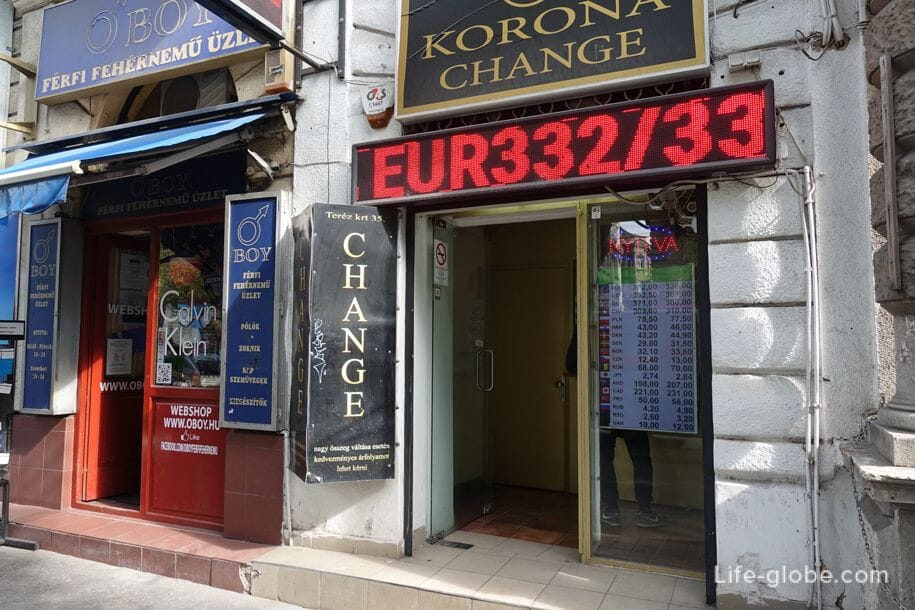 Hungary Currency Exchange In Budapest