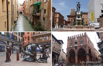 Достопримечательности Болоньи (исторический центр)
