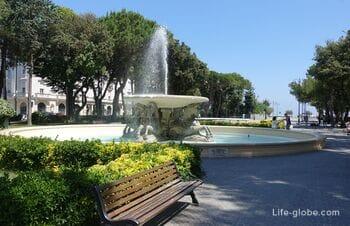 Парк Федерико Феллини в Римини (Parco Federico Fellini)