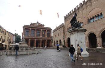 Площадь Кавур, Римини (Piazza Cavour)