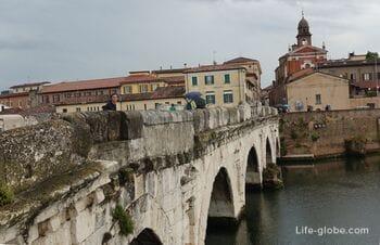 Мост Тиберия в Римини (Ponte di Tiberio)