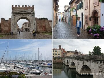Sights in Rimini, Italy. What to see, where to go in Rimini!