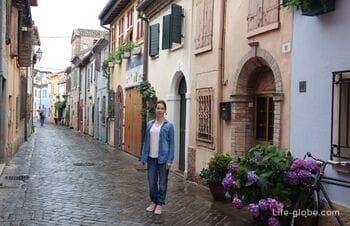 Исторический квартал района Сан-Джулиано, Римини (Borgo San Giuliano)