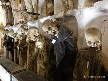 Catacombs of the Capuchins, Palermo - museum of the dead in Sicily