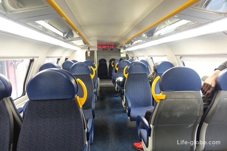 Поезд Милан-Комо